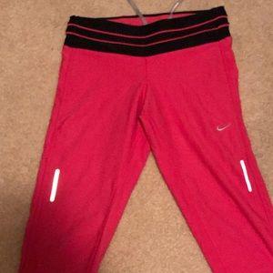 Nike Dry Fit Capri pants. Medium